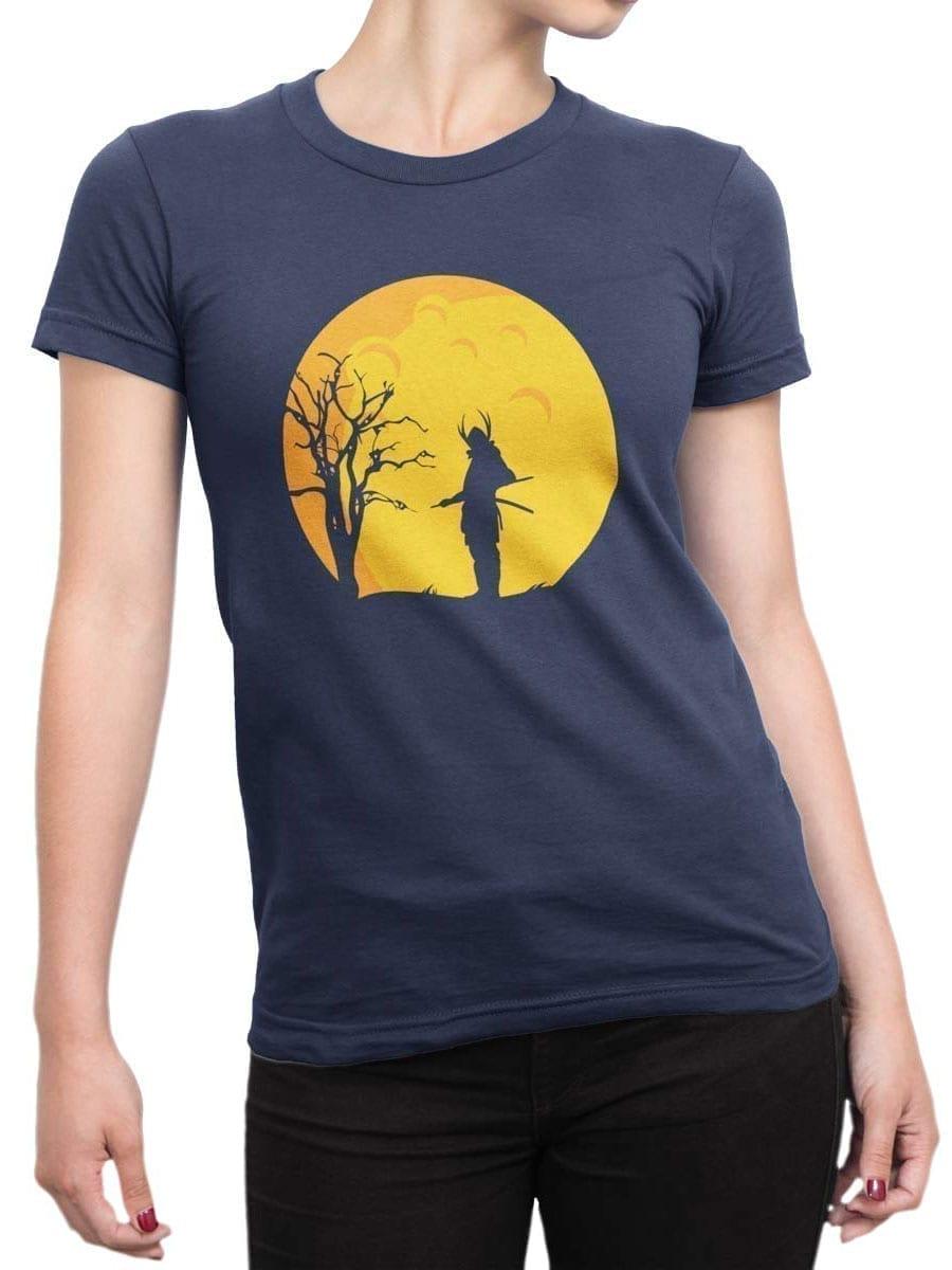 1939 Samurai Night T Shirt Front Woman