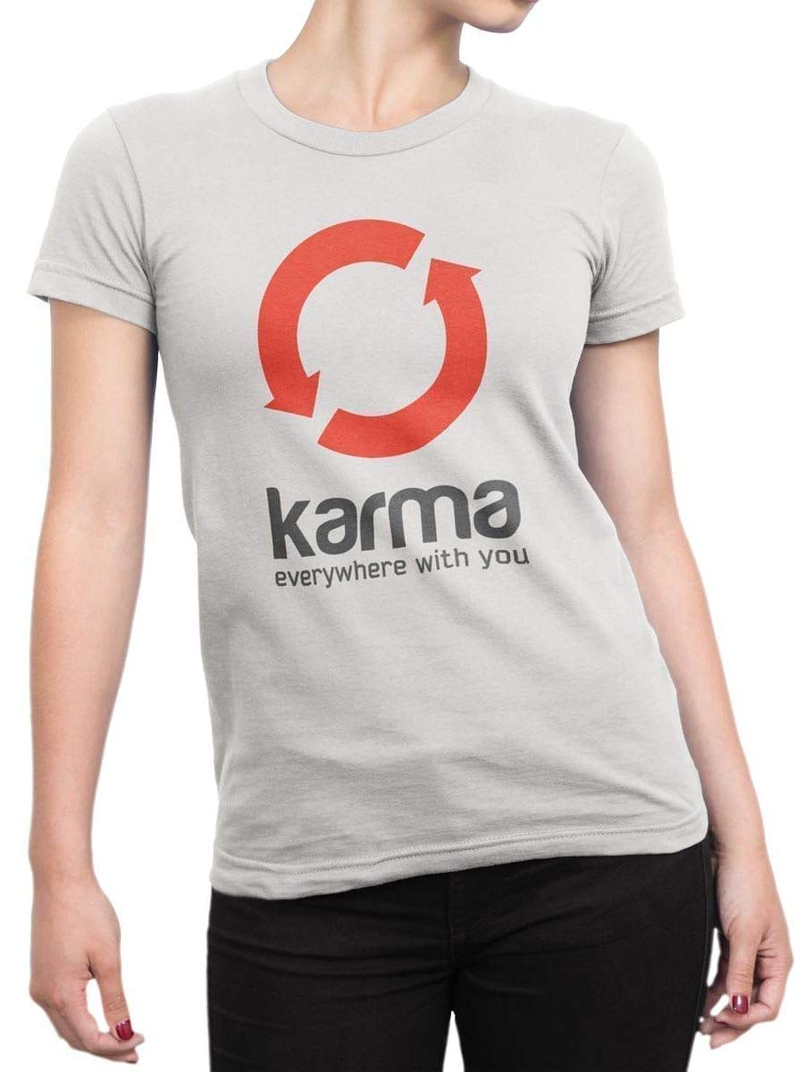 1942 Karma T Shirt Front Woman