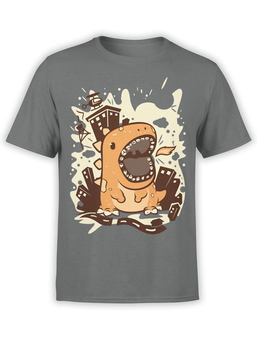 1943 Cute Godzilla T Shirt Front