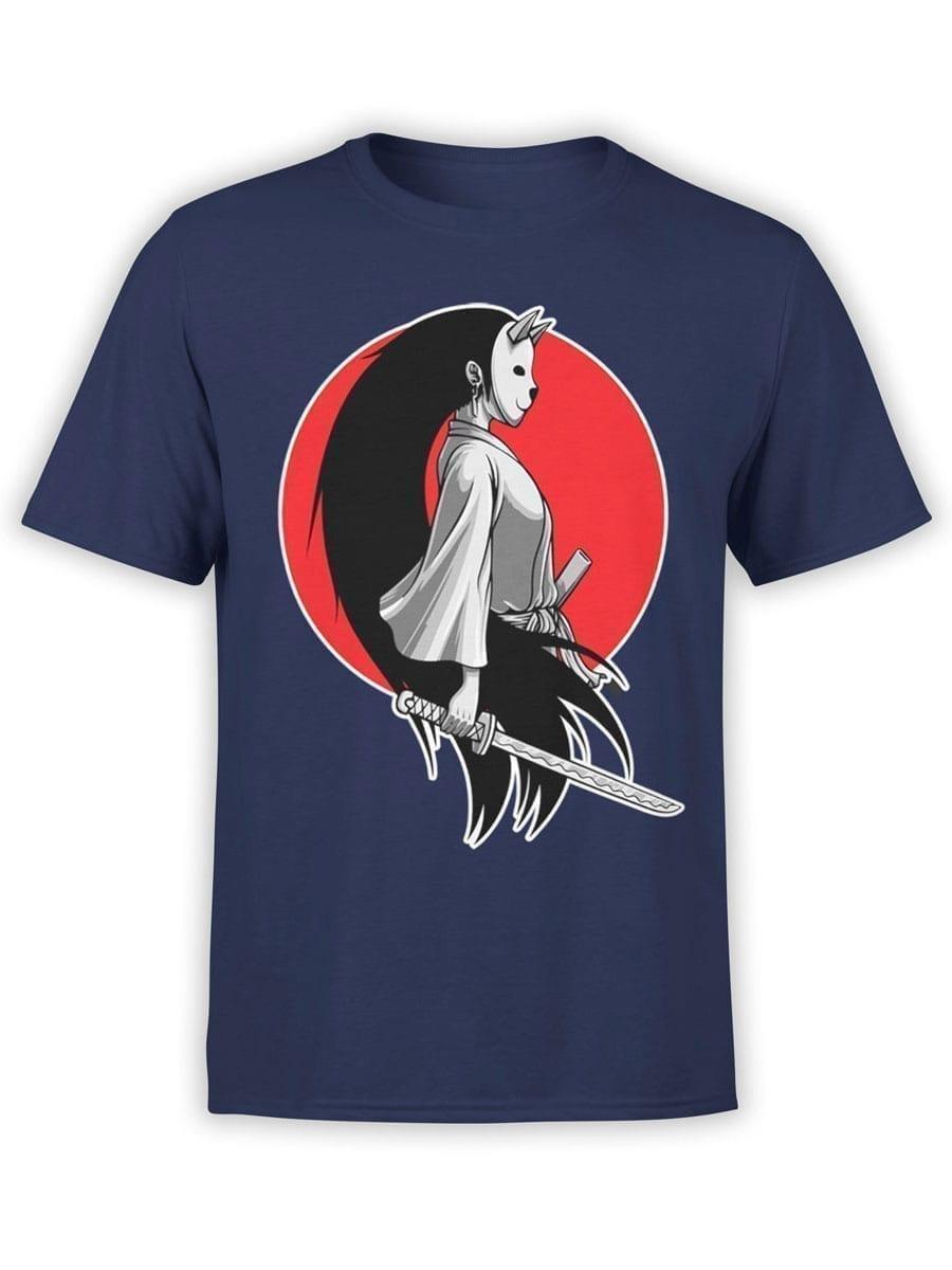 1945 Girl Samurai T Shirt Front