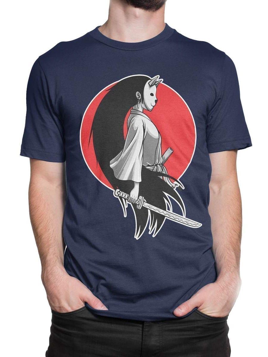 1945 Girl Samurai T Shirt Front Man 2