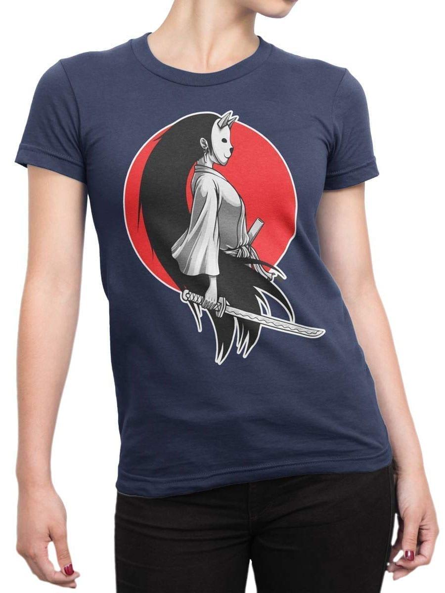 1945 Girl Samurai T Shirt Front Woman