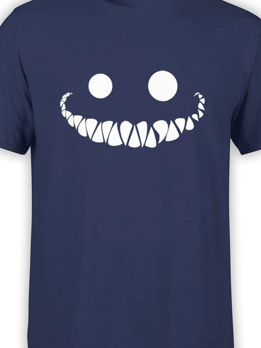 1946 Cheshire Cat Smile T Shirt Front Color
