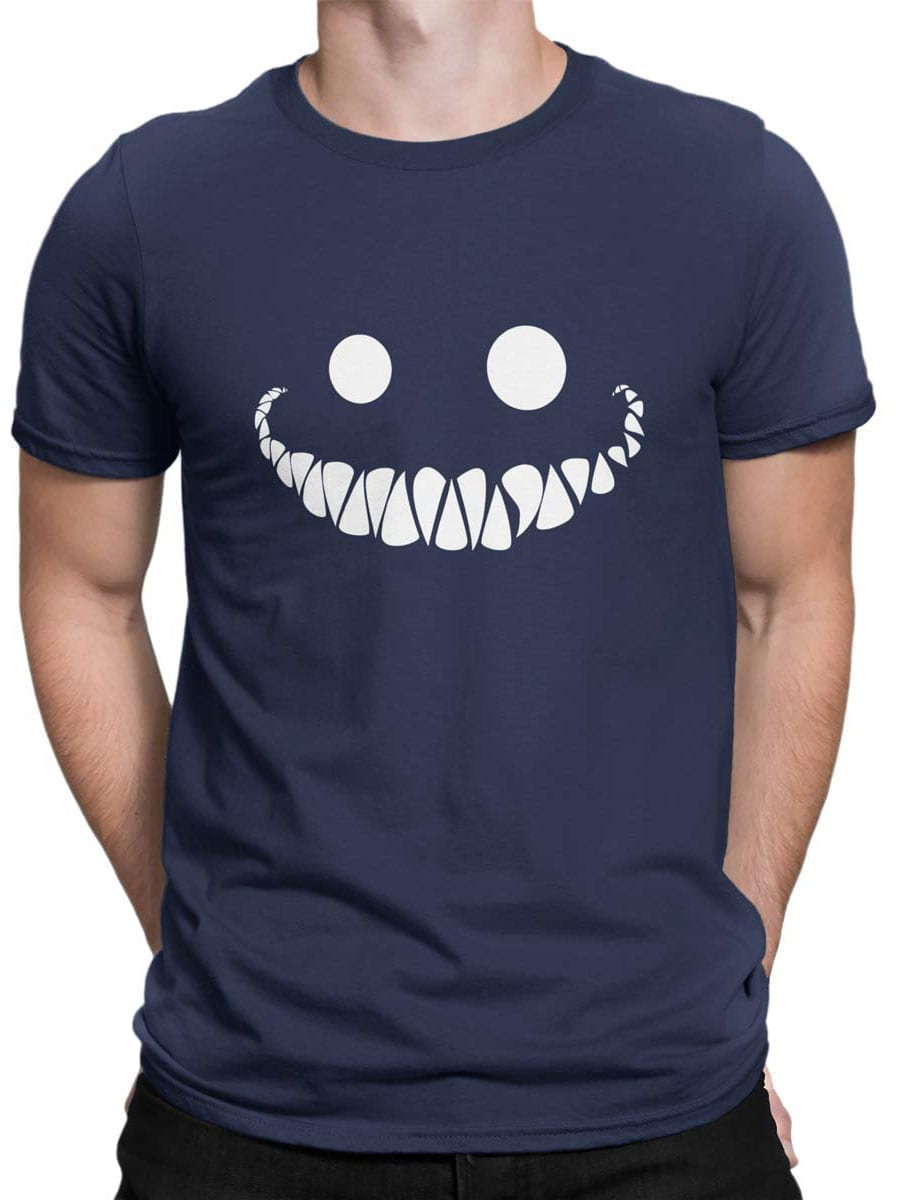 1946 Cheshire Cat Smile T Shirt Front Man