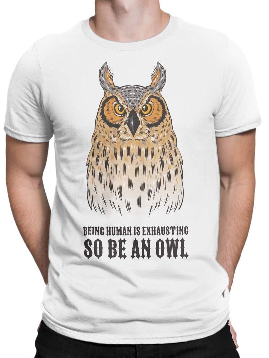1947 Be an Owl T Shirt Front Man