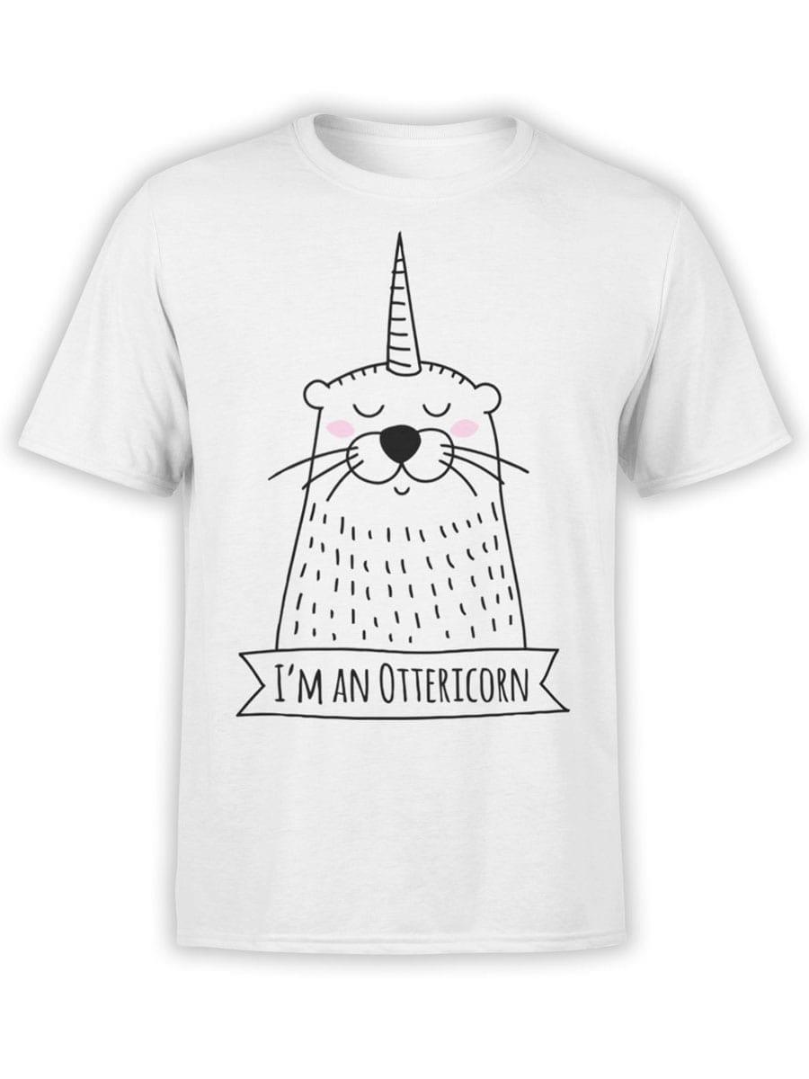 1950 Ottericorn T Shirt Front