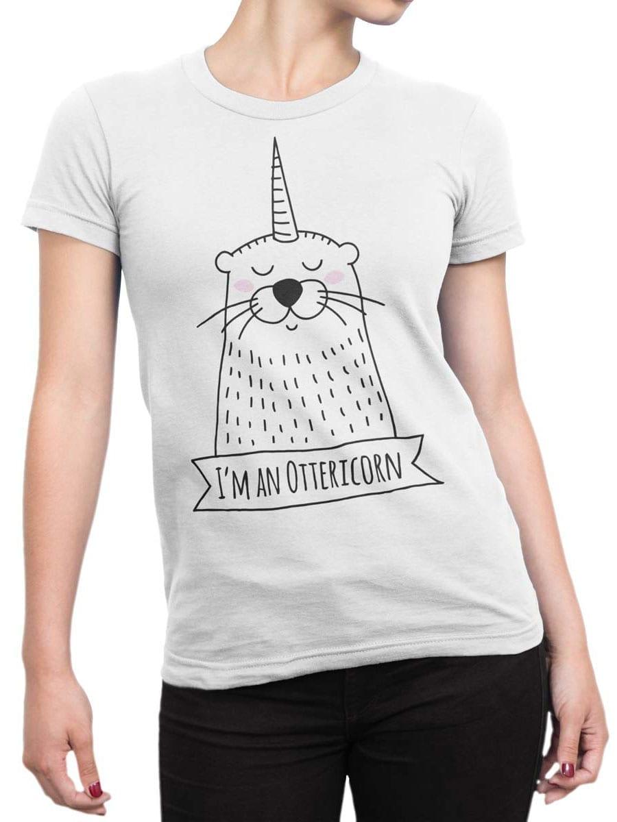 1950 Ottericorn T Shirt Front Woman