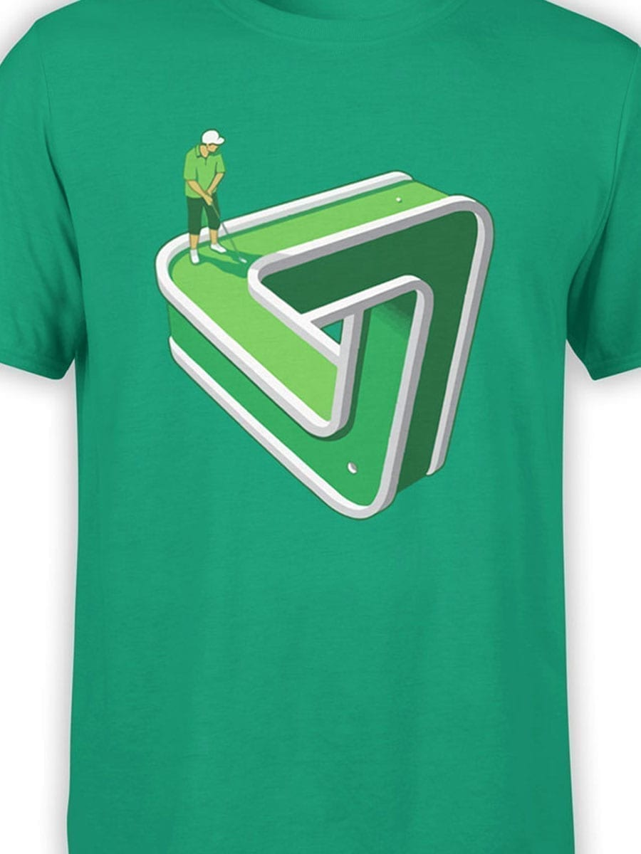 1952 Impossible Golf T Shirt Front Color