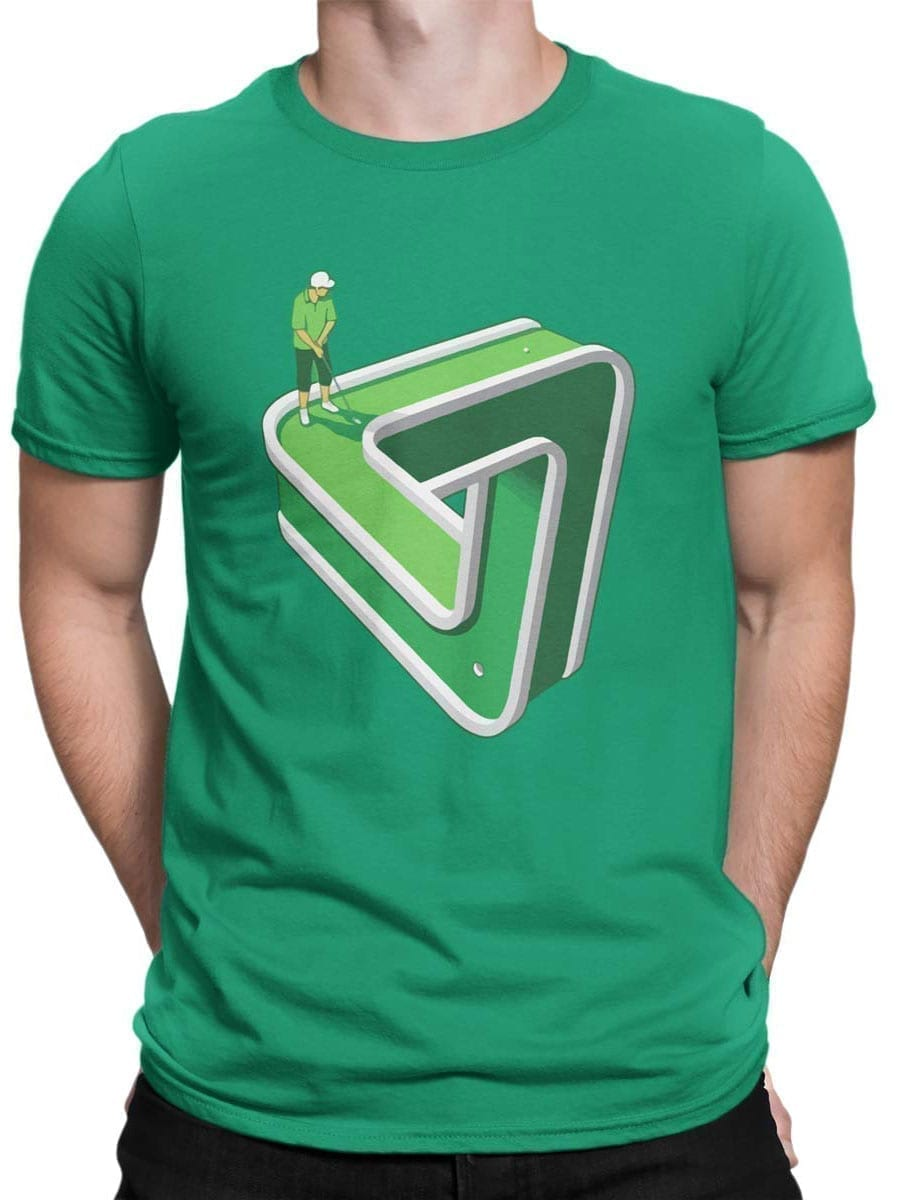 1952 Impossible Golf T Shirt Front Man