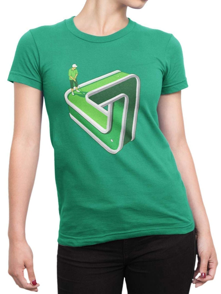 1952 Impossible Golf T Shirt Front Woman