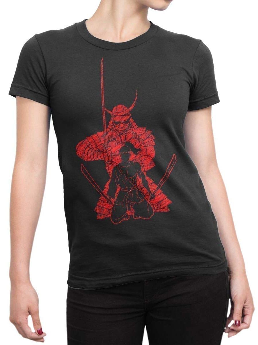 1953 Samurai Spirit T Shirt Front Woman