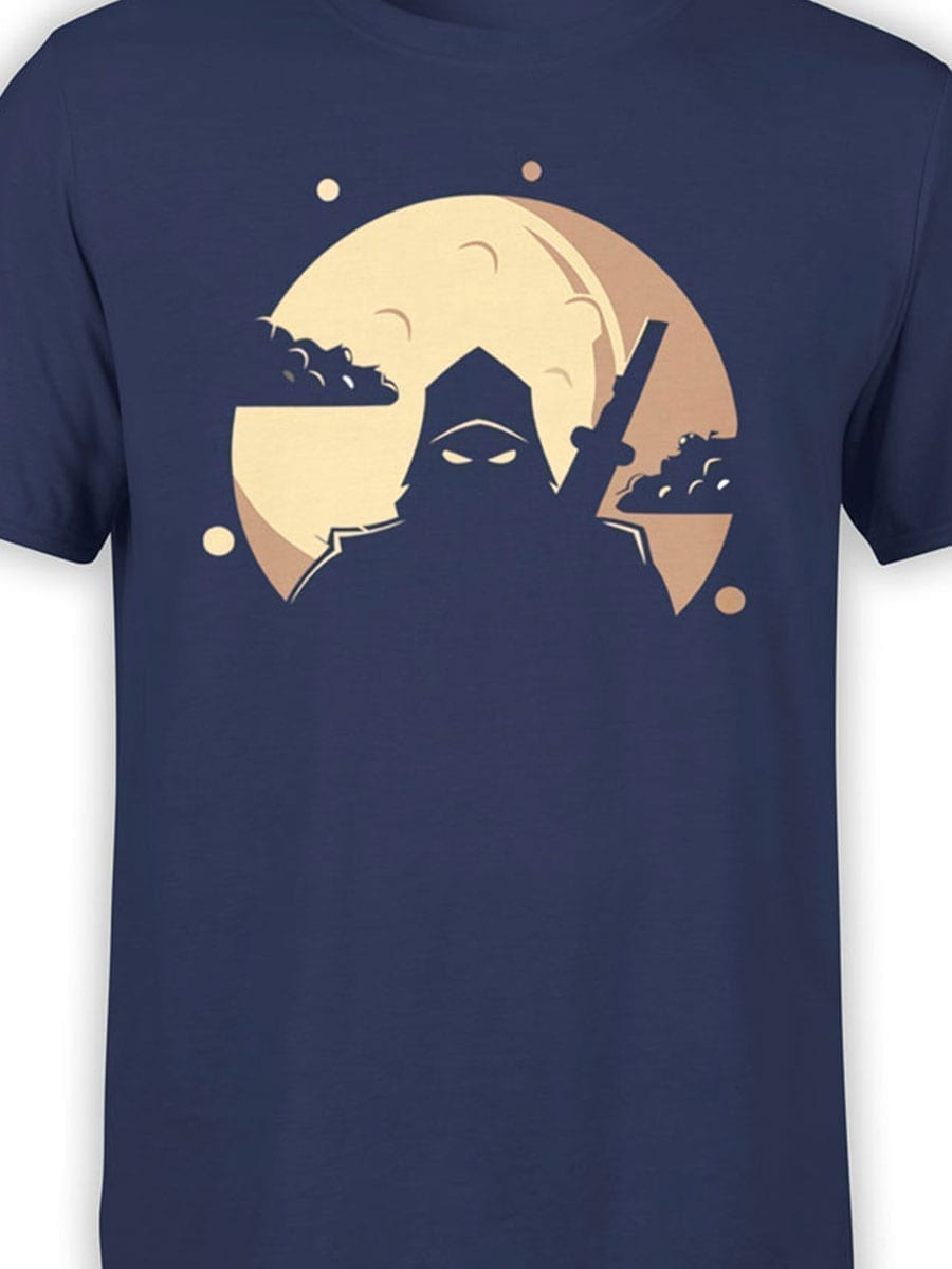 1955 Ninja Shadow T Shirt Front Color