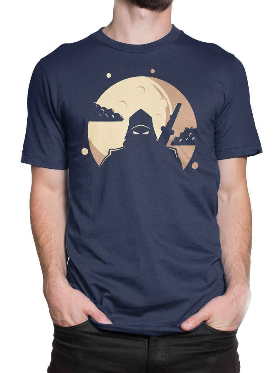 1955 Ninja Shadow T Shirt Front Man 2