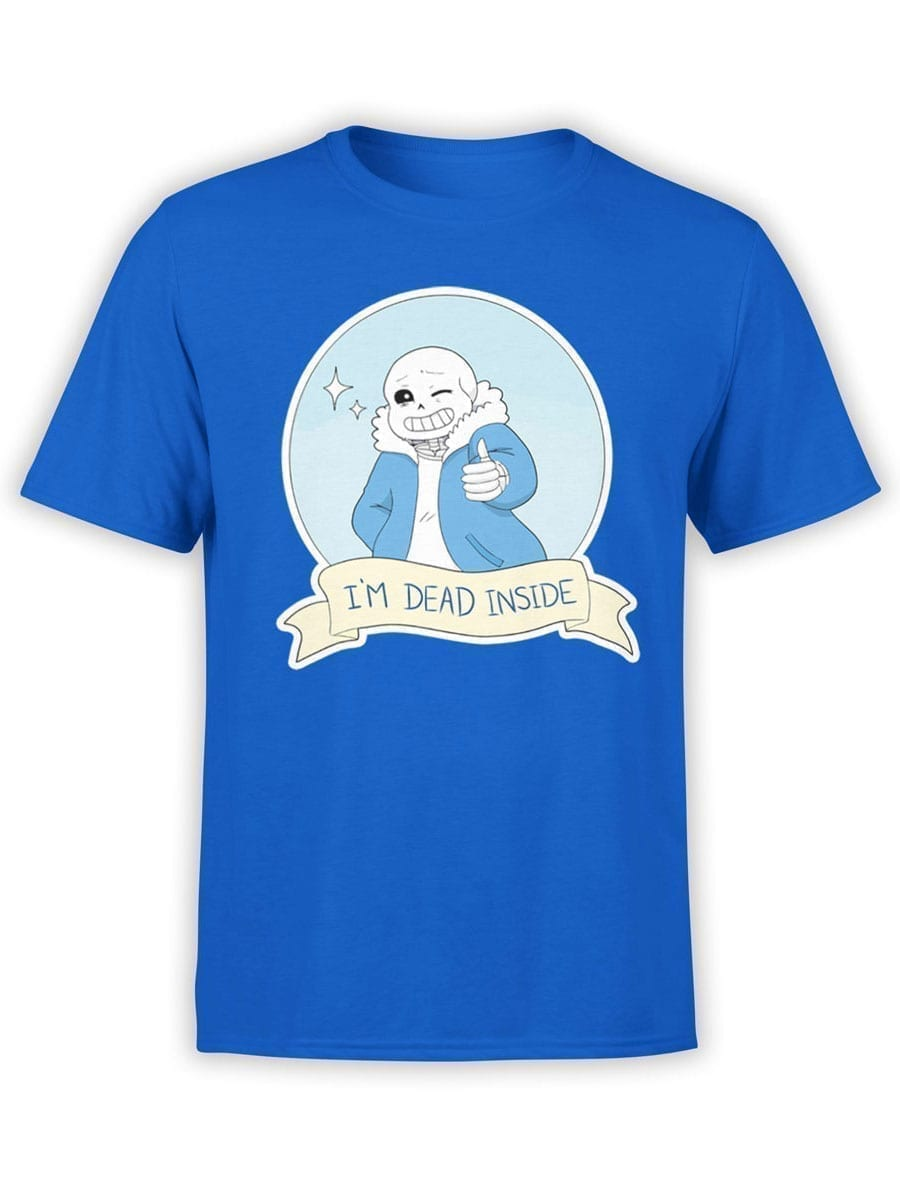 1956 Dead Inside T Shirt Front
