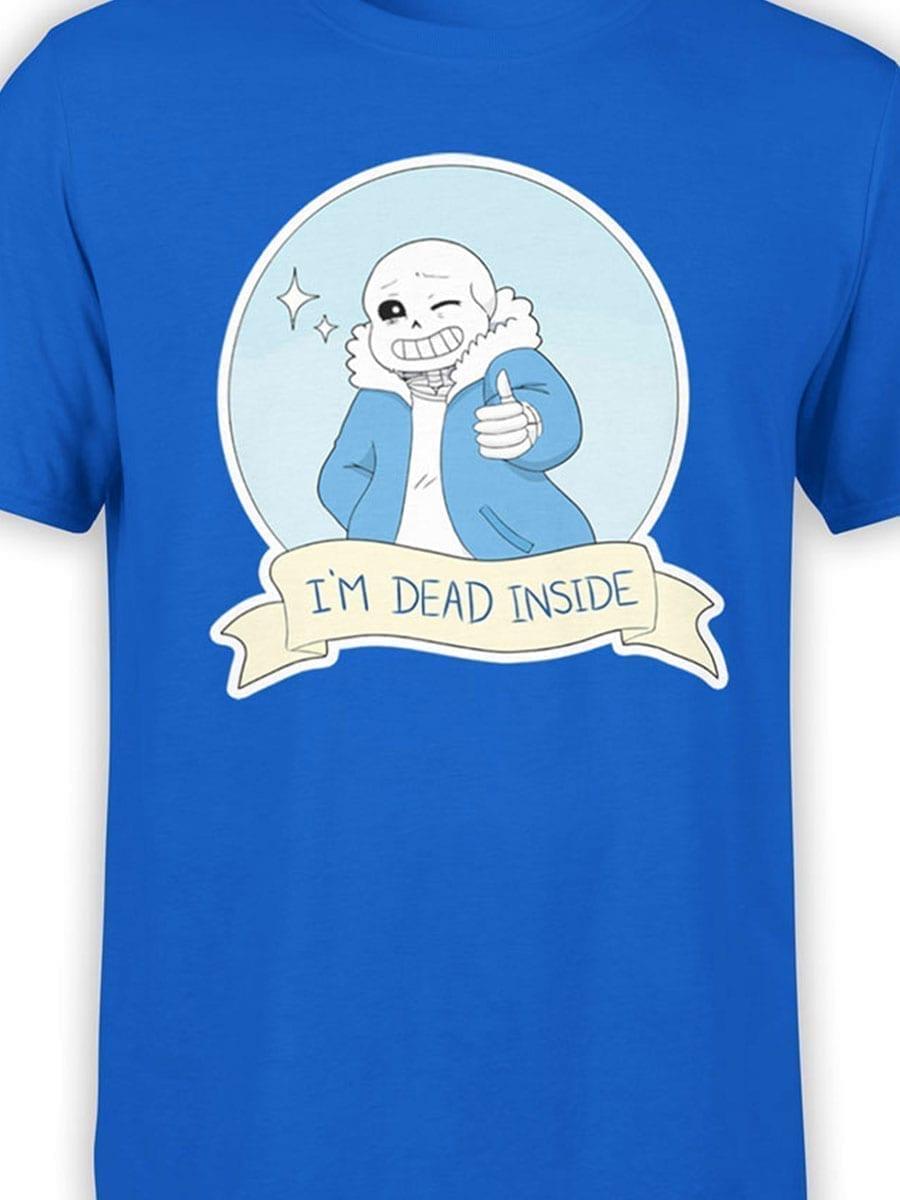 1956 Dead Inside T Shirt Front Color