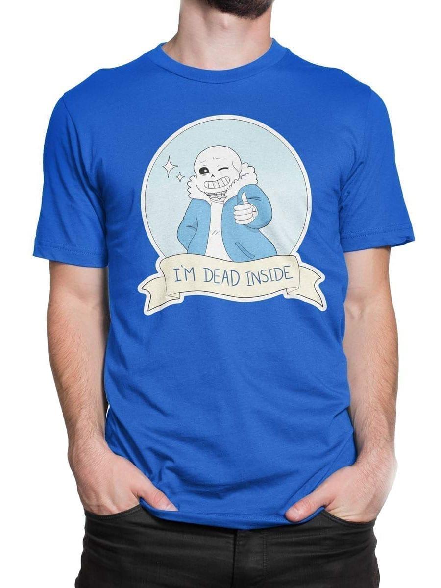 1956 Dead Inside T Shirt Front Man 2