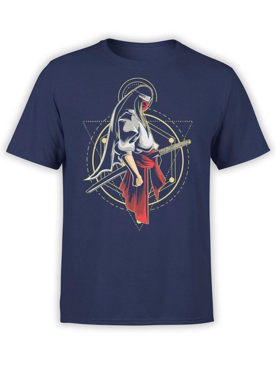 1959 Samurai Geometry T Shirt Front