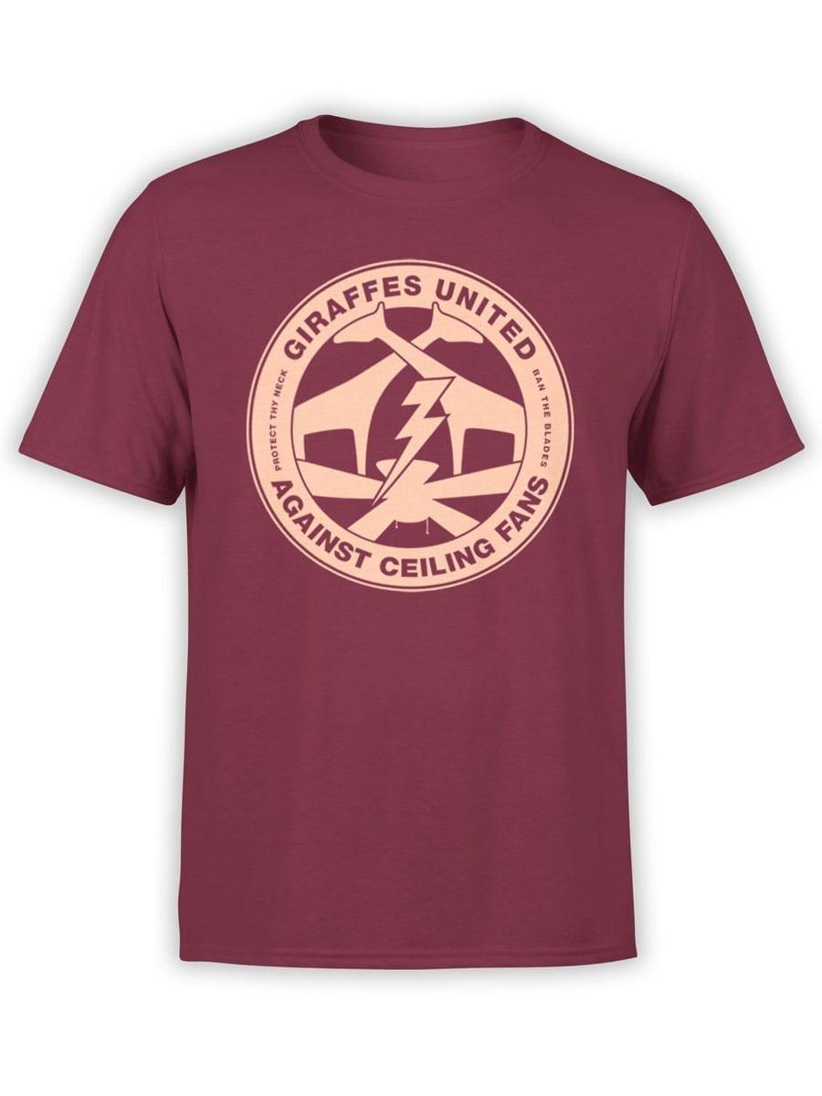 1962 Giraffes United T Shirt Front
