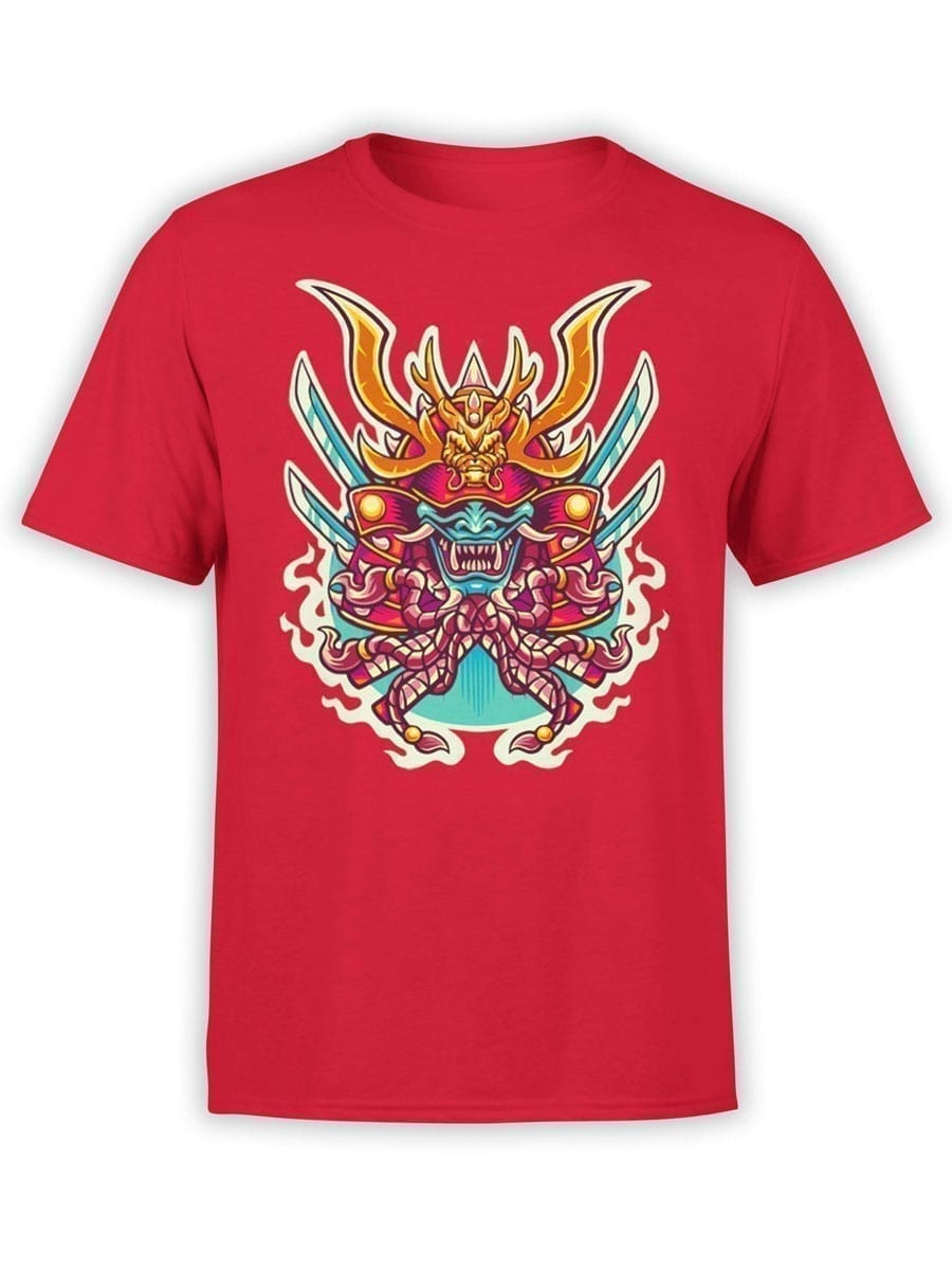 1964 Samurai Mask T Shirt Front
