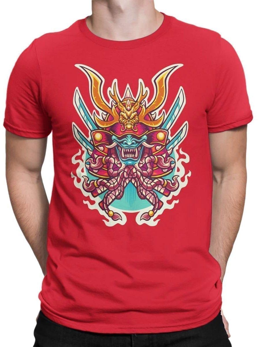1964 Samurai Mask T Shirt Front Man