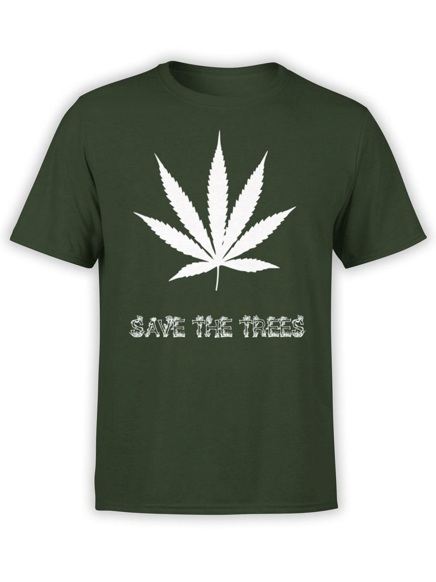 1964 Save the Trees T Shirt Front
