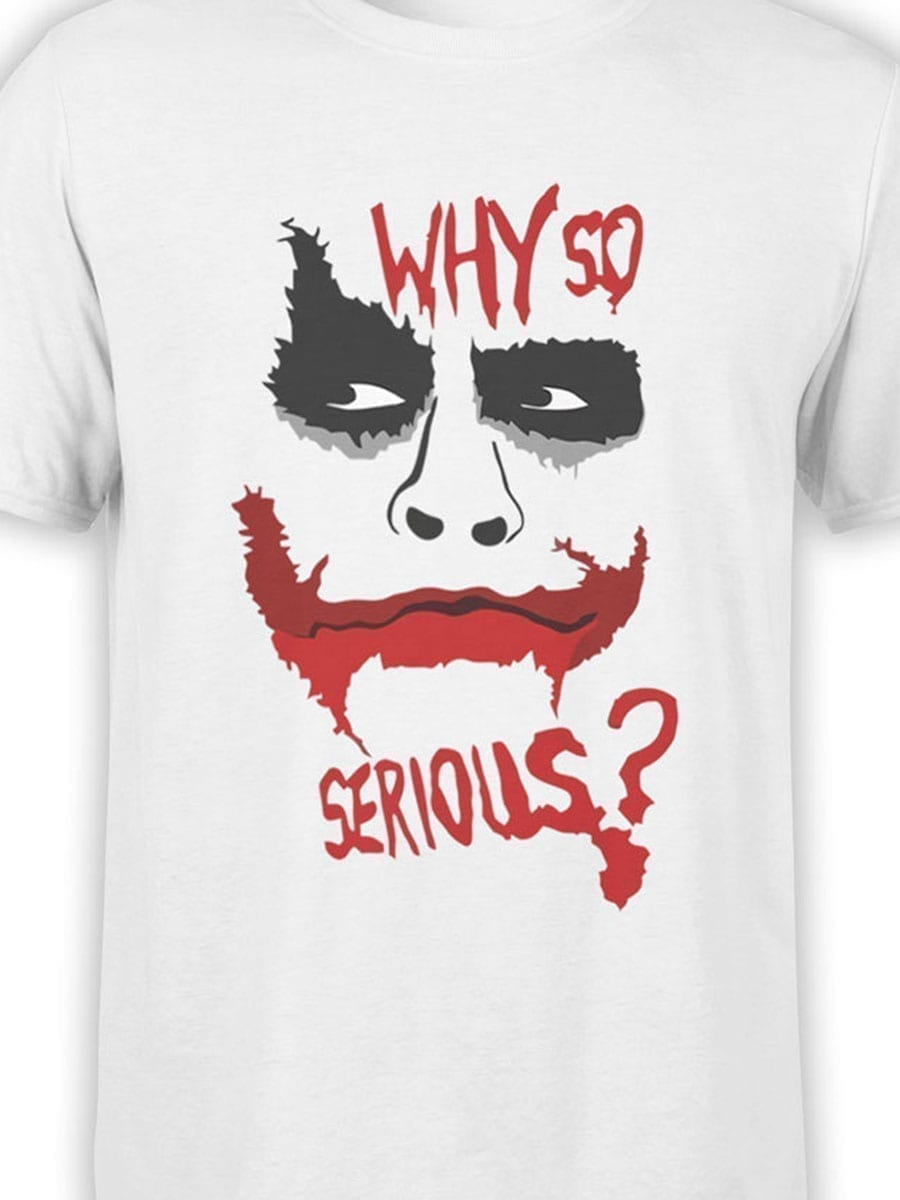 1968 Why so Serious T Shirt Front Color