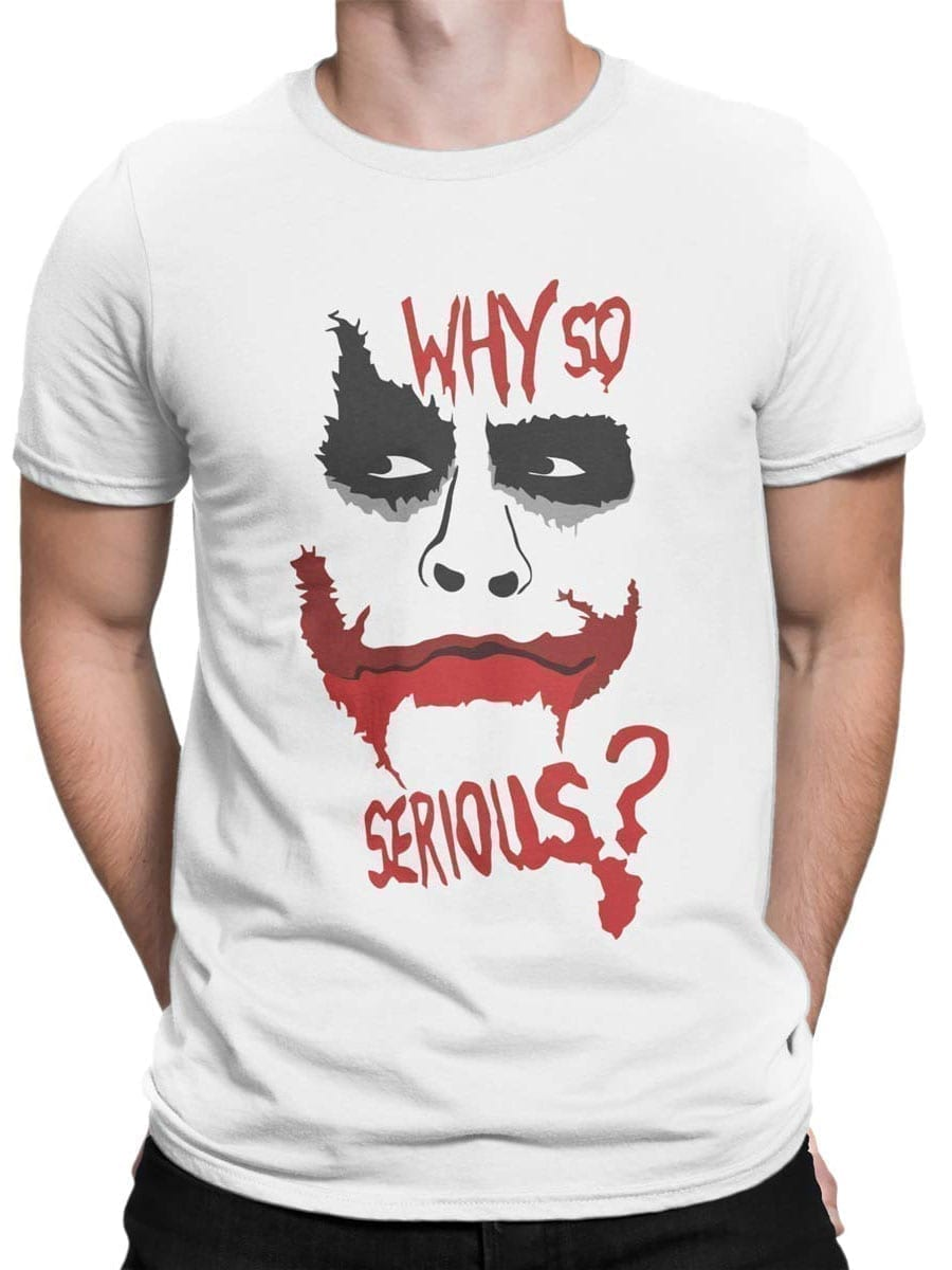 1968 Why so Serious T Shirt Front Man