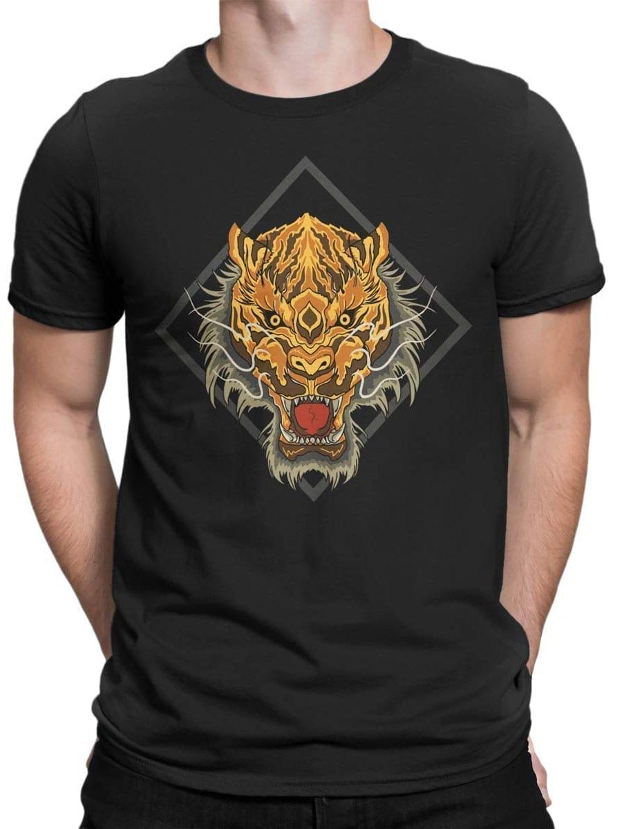 1969 Chinese Tiger T Shirt Front Man