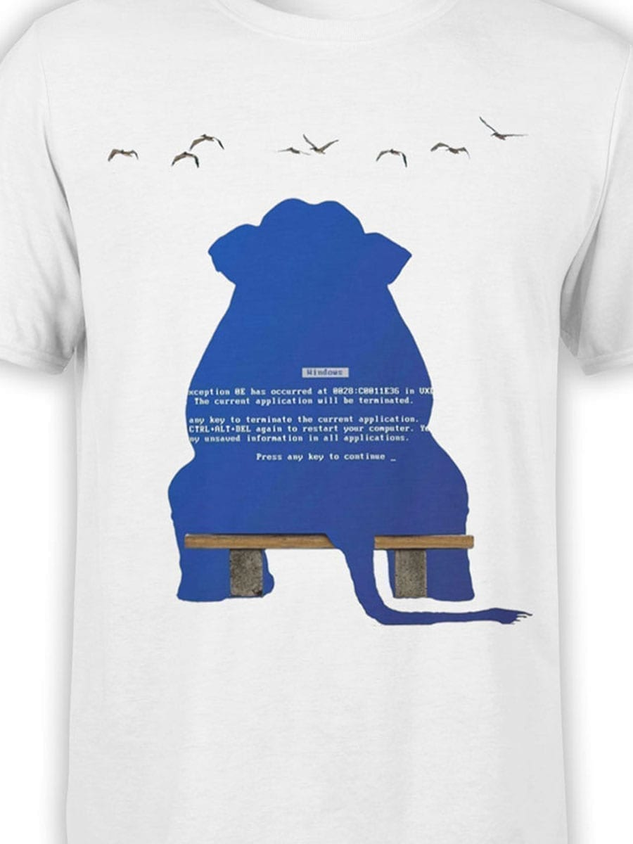 1970 Elephant Dump T Shirt Front Color
