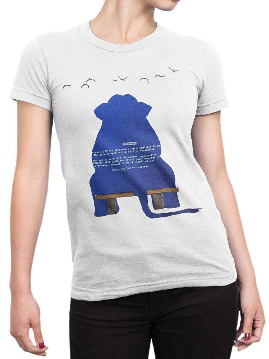 1970 Elephant Dump T Shirt Front Woman