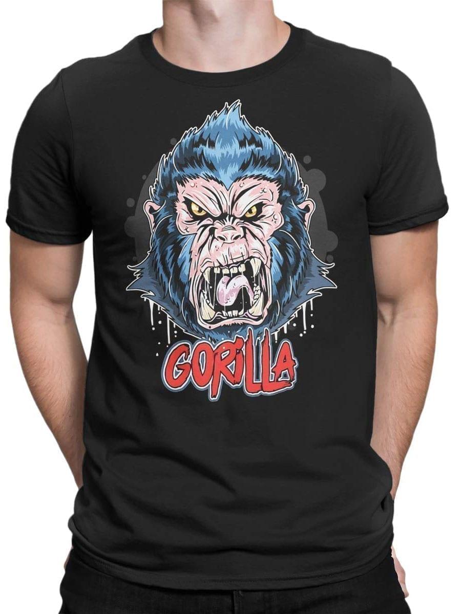 1971 Angry Gorilla T Shirt Front Man