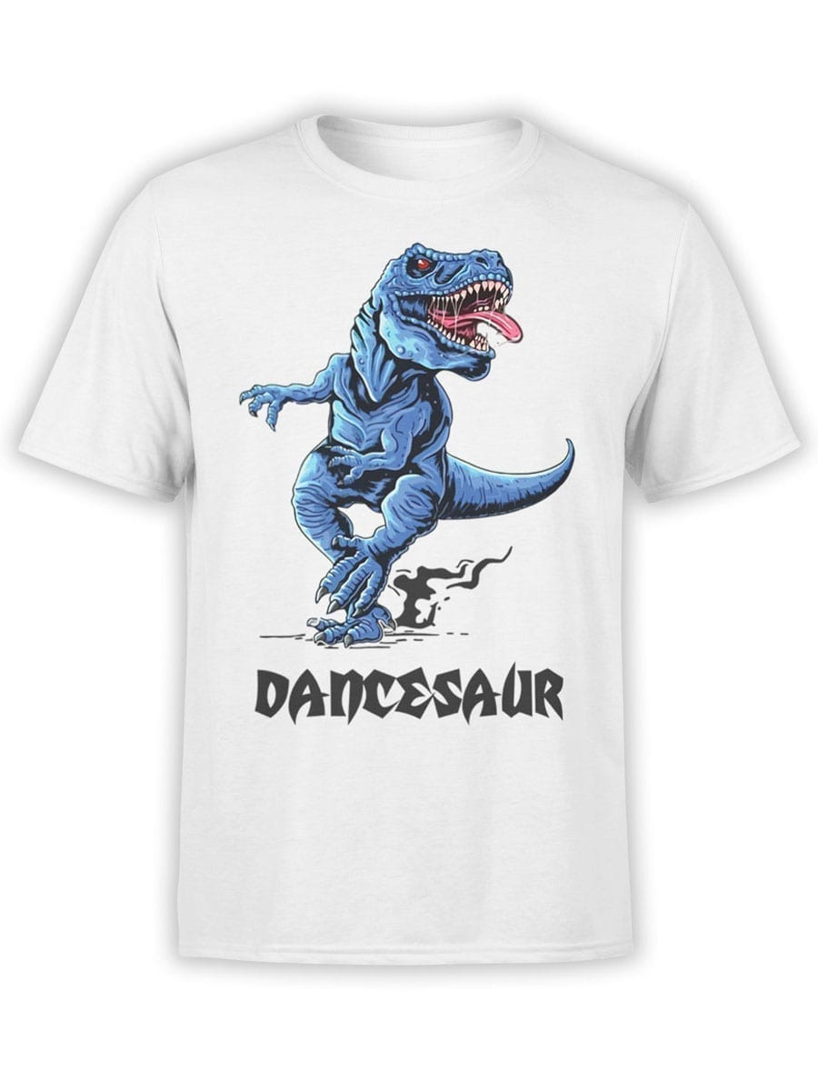 1973 Dancesaur T Shirt Front