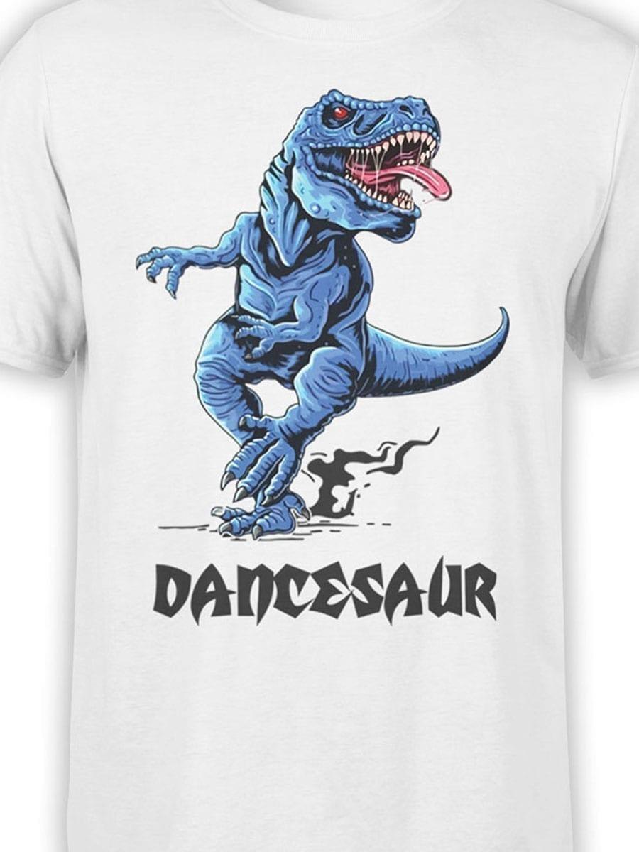 1973 Dancesaur T Shirt Front Color
