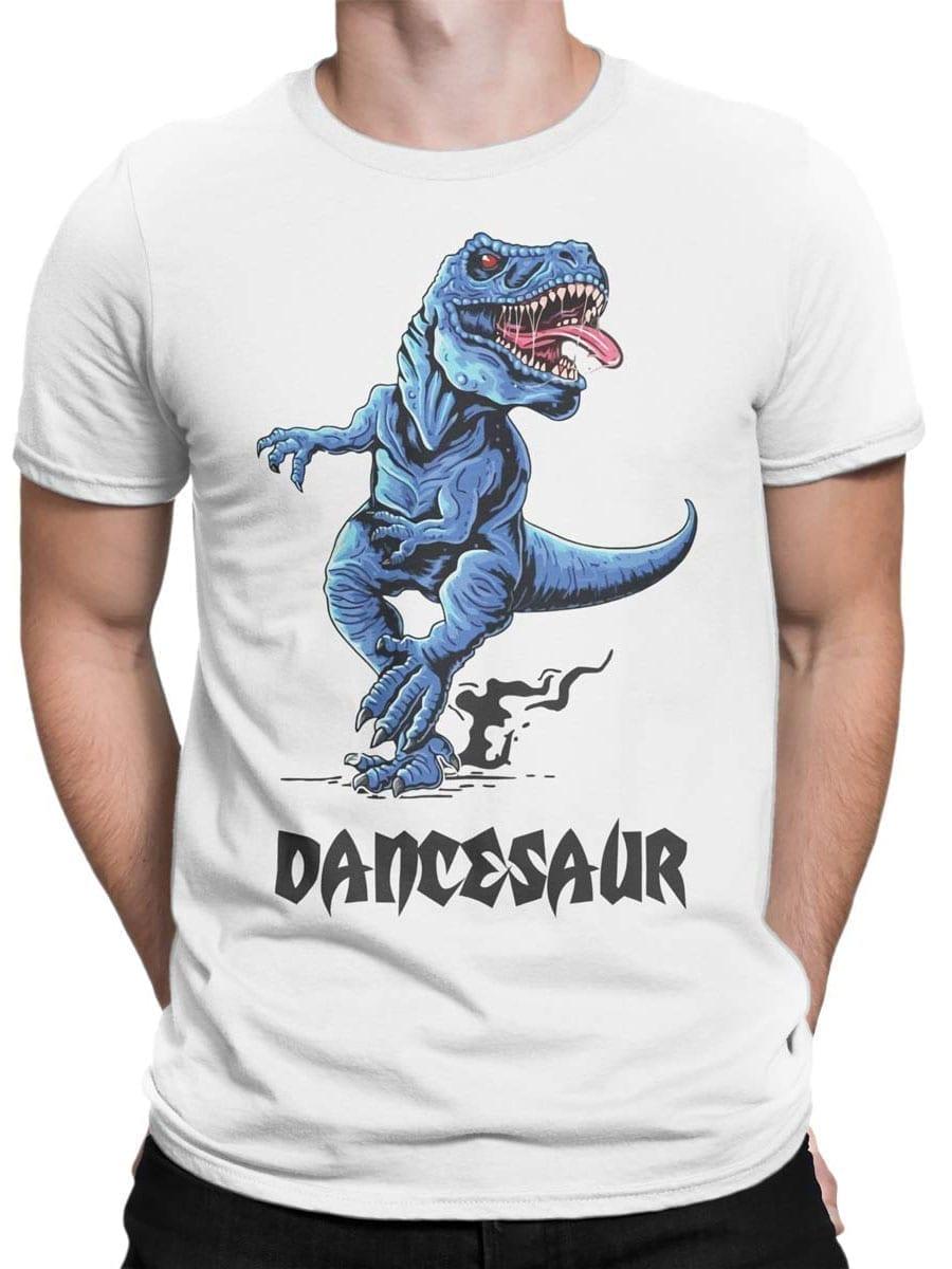 1973 Dancesaur T Shirt Front Man