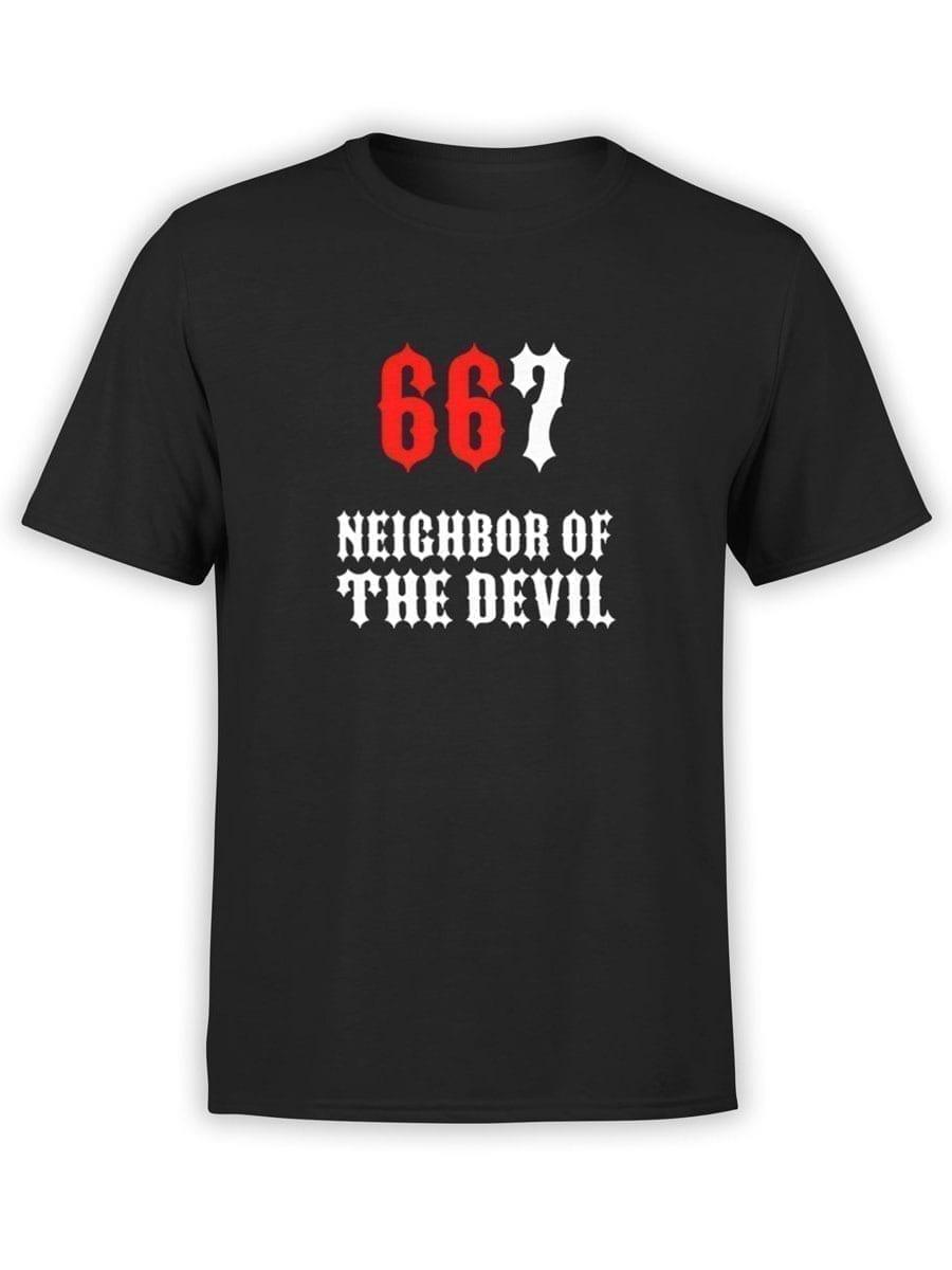 1974 667 T Shirt Front