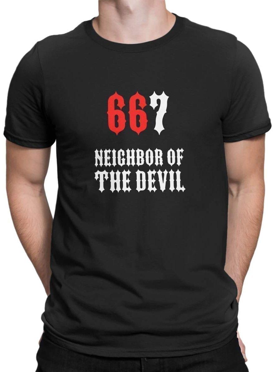 1974 667 T Shirt Front Man