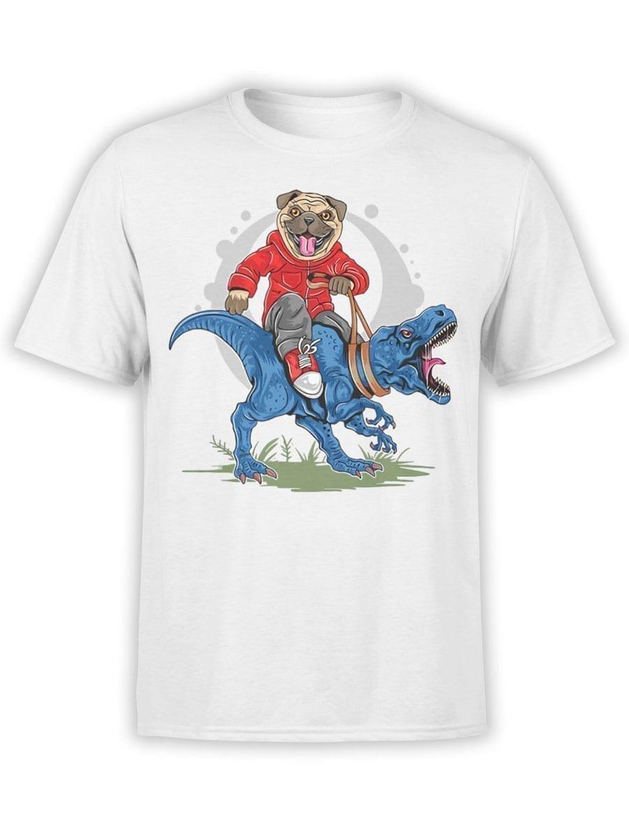 1975 Super Pug T Shirt Front