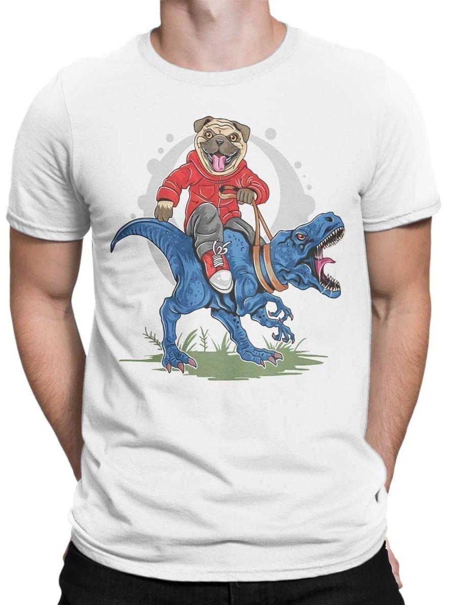 1975 Super Pug T Shirt Front Man