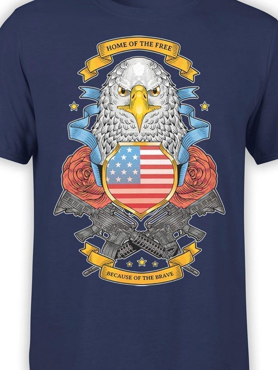 1977 Brave T Shirt Front Color