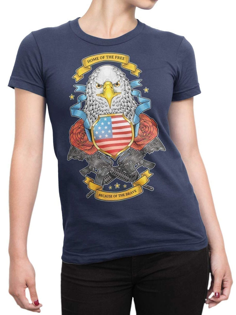 1977 Brave T Shirt Front Woman