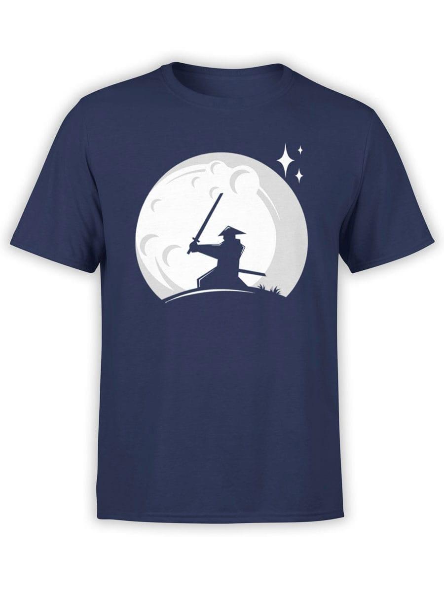 1980 Samurai Moon T Shirt Front