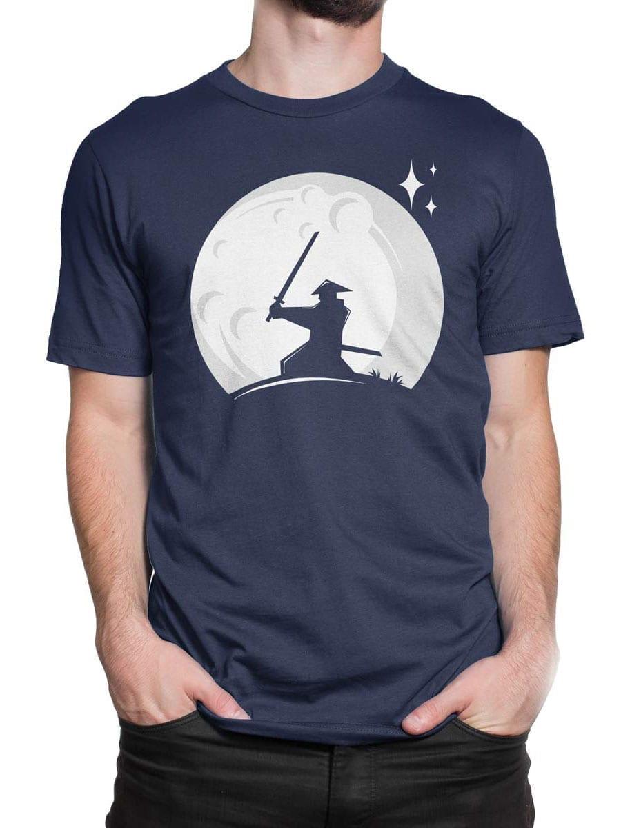 1980 Samurai Moon T Shirt Front Man 2