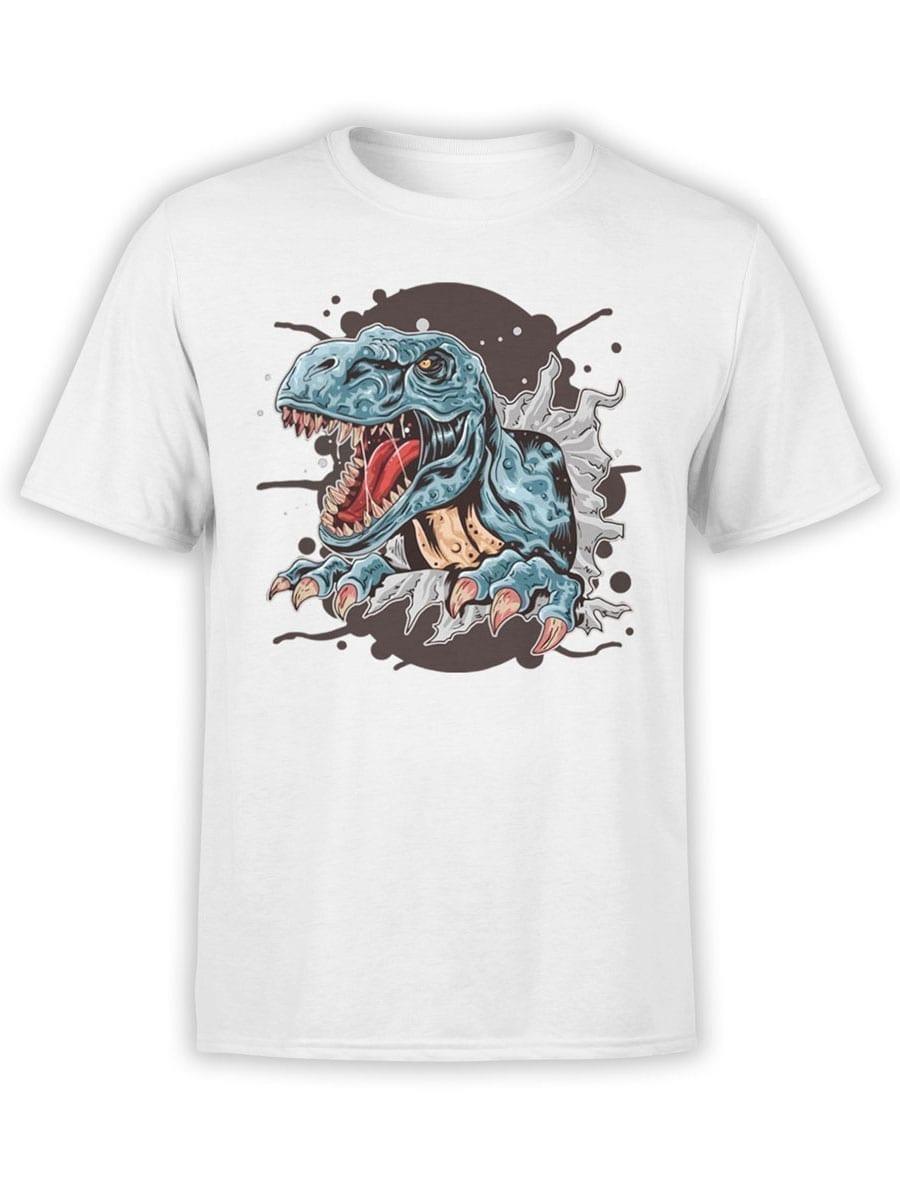 1981 Tyrannosaur T Shirt Front