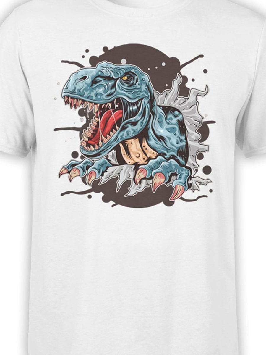 1981 Tyrannosaur T Shirt Front Color