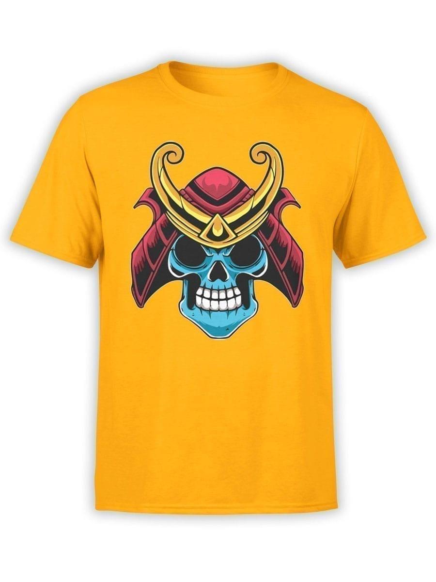 1983 Samurai Skull T Shirt Front
