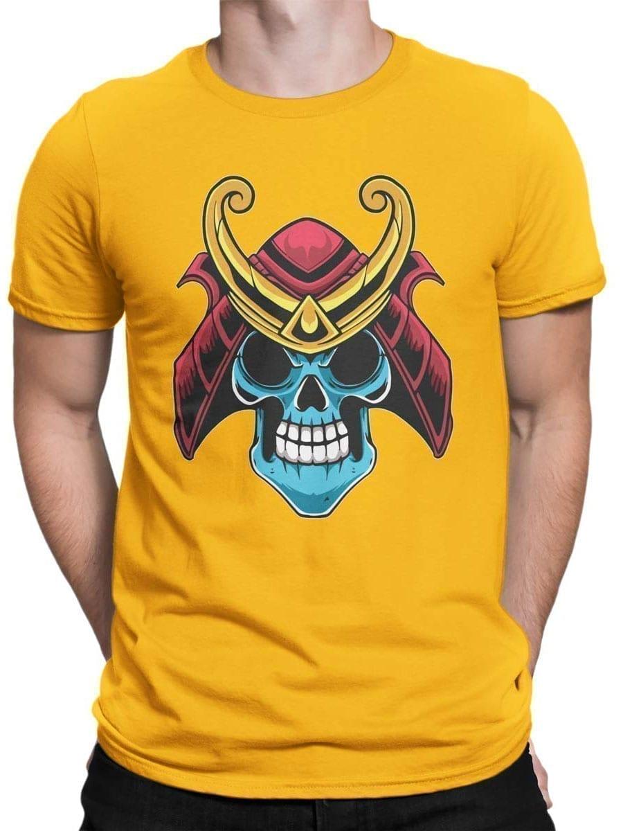 1983 Samurai Skull T Shirt Front Man