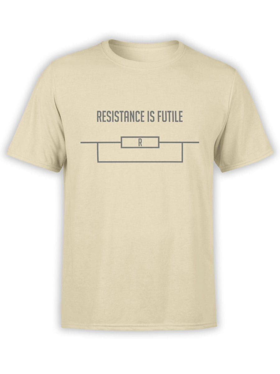 1984 Resistance is Futile T Shirt Front
