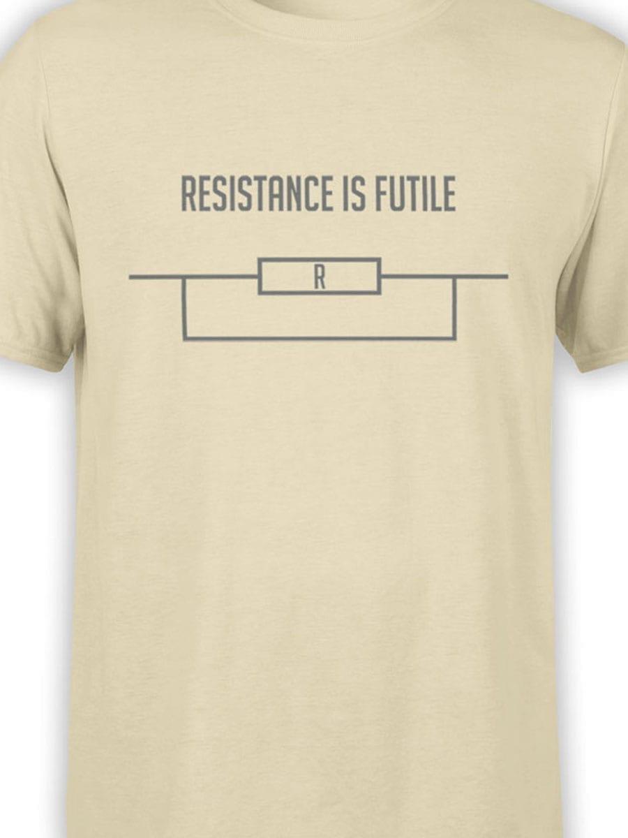 1984 Resistance is Futile T Shirt Front Color