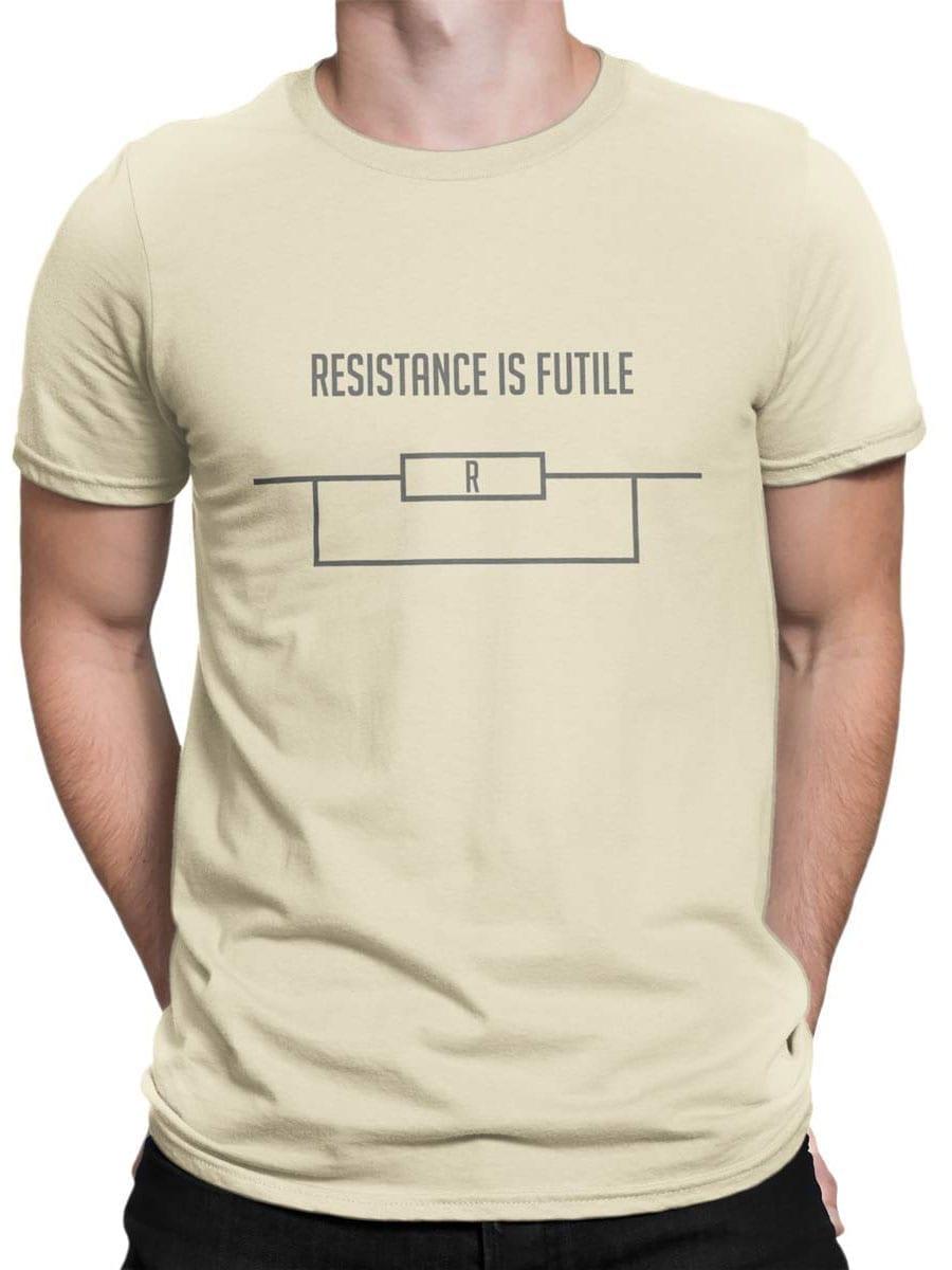 1984 Resistance is Futile T Shirt Front Man
