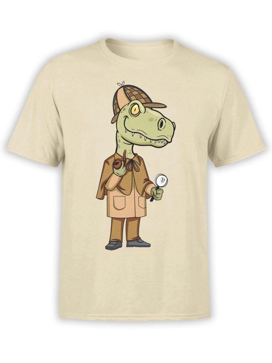 1985 Sherlok Dinosaur T Shirt Front